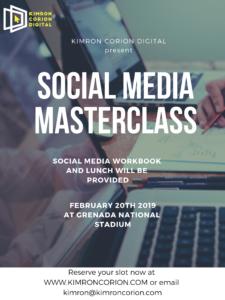 Grenada Social Media Masterclass