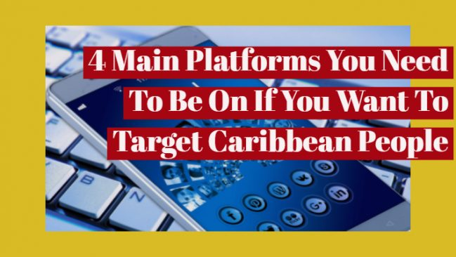 social media in the caribbean