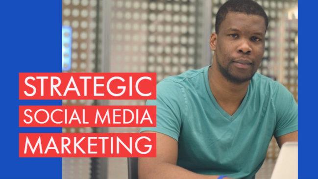 Strategic Social media with kimron corion